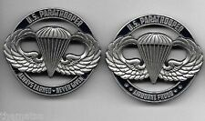 "ARMY PARATROOPER AIRBORNE PROUD ALWAYS EARNED NEVER GIVEN 1.75"" CHALLENGE COIN"