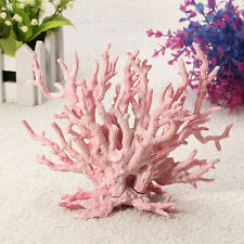 New Artificial Underwater Plastic Coral Fish Tank Aquarium Plant Ornament Decor