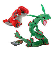 Pokemon Center Rayquaza Groudon Plush Pokedoll Toy 2PCS Hot Sale Gift