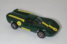 Redline Hotwheels Green Enamel 1969 Lola Gt 70 oc15014
