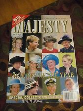 Majesty Magazine 2001 Princess Diana in PINK Pictures of the YEAR Prince William