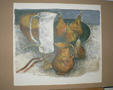 Lithographie Originale d'ANDRÉ MINAUX .