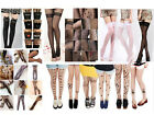 New Design Sexy Tattoo Pattern Temptation Sheer Pantyhose Stockings Tights