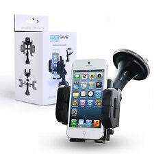 Yousave Accessories Samsung Galaxy S7 Edge Car Phone Holder Mount - Black