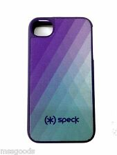 Speck Fitted Hard Case with Fabric for Apple iPhone 4/4S (Purple/Turquoise) OEM
