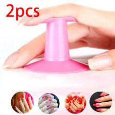 2pcs Finger Rest Holder Stand Gel Manicure Airbrush Nail Art Tools Nail Care