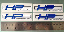 HP Decals / Stickers for BMW S1000RR HP4 (Set of 4 100mm Stickers)