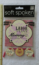 New Pack Soft Spoken BANNER - PREGNANCY Stickers