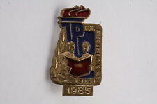 East German 1985 For Good Work in School Youth Children Badge Medal Education