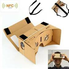 DIY Google NFC Glass Cardboard Smartphone Virtual Reality VR 3D Gafa Android IOS
