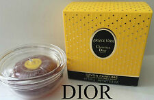 100%AUTHENTIC MOST RARE DIOR Dolce Vita VINTAGE PERFUMED SOAP SAVON&Luxury STAND