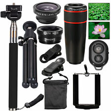 All in 1 Accessories Phone Camera Lens Top Travel Kit For iPhone 5S 6 Plus DC600