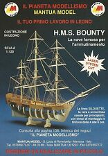 X2547 MANTUA MODEL - H.M.S. Bounty la nave famosa - Pubblicità 1991 - Advertis.