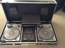 Dj Equipment Technics SL 1200MK5 Rane TTM 57 SL Mixer Odyssey Coffin & Micrphone