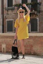 ZARA  MUSTARD YELLOW DRESS  SIZE M