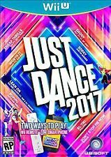 Just Dance 2017 Extremely Fun New Overstock Free SH!!! (Nintendo Wii U, 2016)