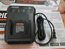 Ridgid 18 Volt X4 X5 Dual Chemistry Battery Charger R86092 Brand New!