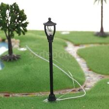 20pc Garden Park Street Light Model Single Head Lamppost Lamp 1/100 Ho Scale