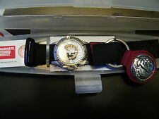 Forida State University Seminole Men's Large Face Watch and keychain Set NWT NIB
