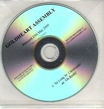 (CQ265) Goldheart Assembly, So Long St Christopher - 2009 DJ CD