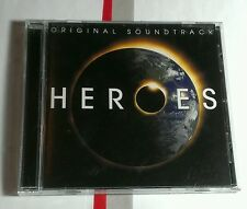 Heroes Original TV Soundtrack Coleman Howie Wilco Dylan Panic at Disco MINT CD