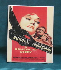 KPM Style Porcelain Painting Plaque Of A Hollywood Add  MAGNIFICENT