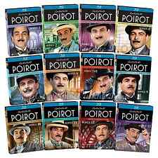 Agatha Christies Poirot: Complete Series Seasons 1-13 Box / BluRay Set(s) NEW!