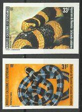 Nouvelle Caledonie Serpent Venimeux Venomous Snake Schlange Non Denteles ** 1983