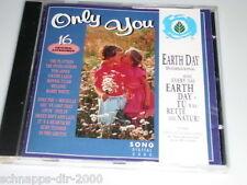 ONLY YOU 16 ORIGINAL AUFNAHMEN CD MIT THE PLATTERS BONNIE TYLER BARRY WHITE ...