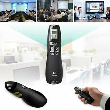 Logitech R800 Wireless Professional Presenter Green  Laser Pointer 30m 2.4 GHz