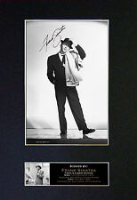 FRANK SINATRA Top Quality Autograph Signed Photo Print (A4) No146