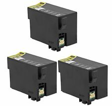 3-Pk/Pack T252XL Ink Cartridge Epson WorkForce WF3620 WF3640 WF7110 WF7610 7620