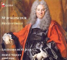 ██ ORGEL ║ FRANCOIS D'AGINCOUR (*1684) ║ Pièces d'Orgue ║ Hervé Niquet