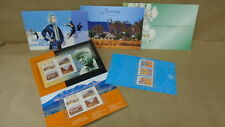 Australia Stamps MNH 5 Different Sets in Cards Farming Youth Arts