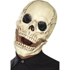 Calidad Calavera grandes Grin Máscara Halloween Tenebroso Fancy Dress Horror Esqueleto