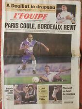 L'Equipe du 7/9/2000 - Paris- Bordeaux, Pauleta - Clément - Douillet