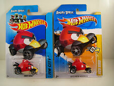 Angry Birds 2012 & 2014 RED BIRD! Hot Wheels By Mattel VERY NICE! NEW! F1