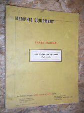 UP TO 1977 GMC 2 1/2 TON 6X6 TRUCK M SERIES PARTS CATALOG MANUAL MEMPHIS EQUIP.