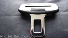 CITROEN C3 SEAT BELT ALARM BUCKLE KEY INSERT PLUG CLIP SAFETY CLASP STOPPER