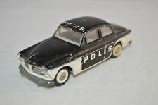 "Tekno Denmark 810 Volvo Amazon ""Polis"" in original condition selten POLIS"