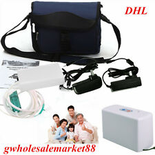 battery + carry case + Portable Oxygen Concentrator Generator Home/Travel Care
