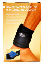 Body Coach Hot & Cold Soothing Compress Ankle Support Adjustable Neoprene Brace