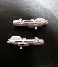 Transformers G1 JAPAN Victory BLUE BACCHUS Reproduction SMALL GUNS (PAIR)