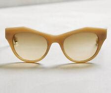 NIP Anthropologie Unusual Retro ett:twa Mittnu Cateye Sunglasses Shades Neutral