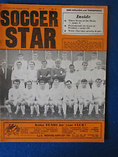 Soccer Star Magazine - 16/12/1966 - Vol 15 - No 14 - Leeds United team on cover