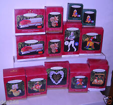 #8420 Hallmark 13 - 1997 Empty Ornament Boxes ONLY (See List & Description)