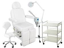 Fußpflegekabine Kosmetikliege Fußpflegestuhl Podologiestuhl Bedampfer elektrisch