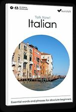 Eurotalk Talk Now Italian for Beginners - Download option and CD ROM