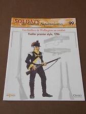 Fascicule N°99 Del Prado Soldat Guerre Napoléon Fusiler Premier Style 1796