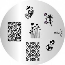 Konad Piastra immagine m83 DISCO STAMPING NAIL ART UK
